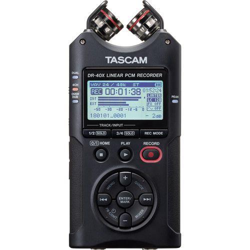 Gravador Tascam DR-40x