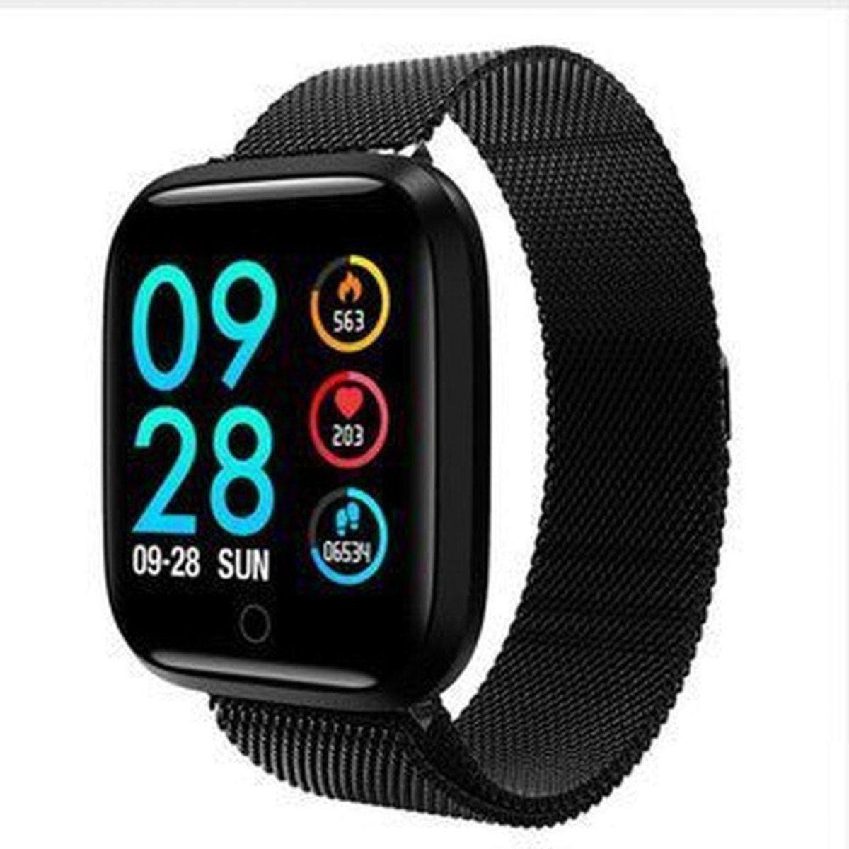 Smartwatch P68 P70 Preto