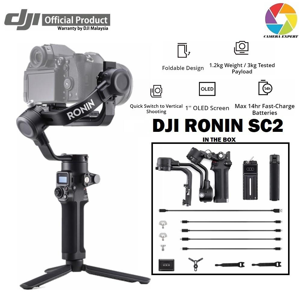 Estabilizador De Imagem Gimbal Dji Ronin Rsc 2 Pro Combo