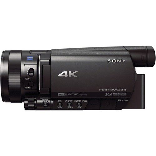 Filmadora Sony FDR-AX100 4K Ultra HD