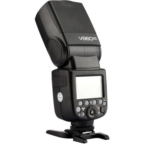 Flash Godox V860 II com Bateria Recarregavel (Canon)