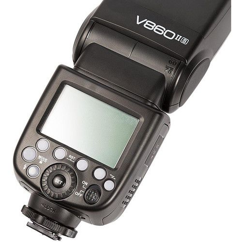 Flash Godox V860 II com Bateria Recarregavel (Sony)