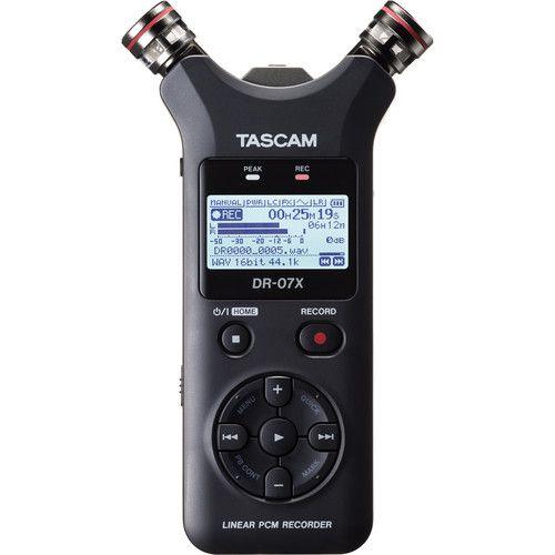 Gravador de áudio portátil Tascam DR-07X