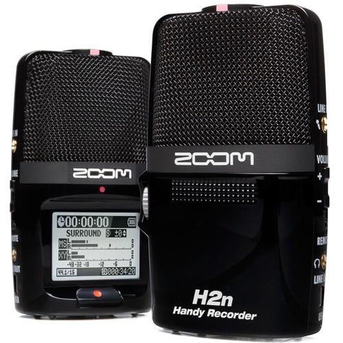 Gravador portátil Zoom H2n