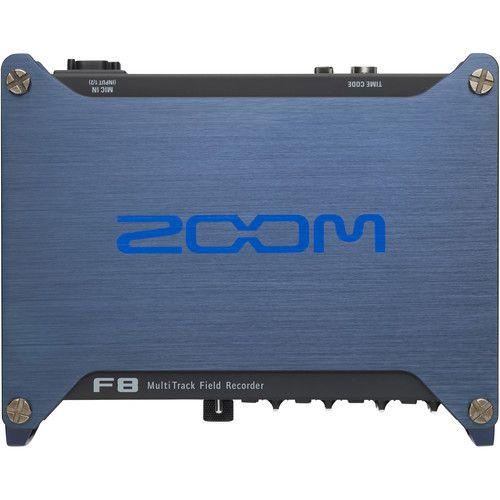 Gravador ZOOM F8 de Campo Multi-Trilha