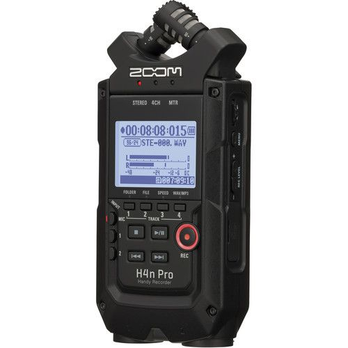 Gravador ZOOM H4n Pro (Black Edition)