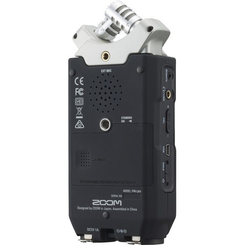 Gravador ZOOM H4n Pro (Prata)