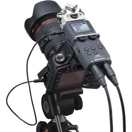 Gravador ZOOM H5 c/ Microfone Intercambiável