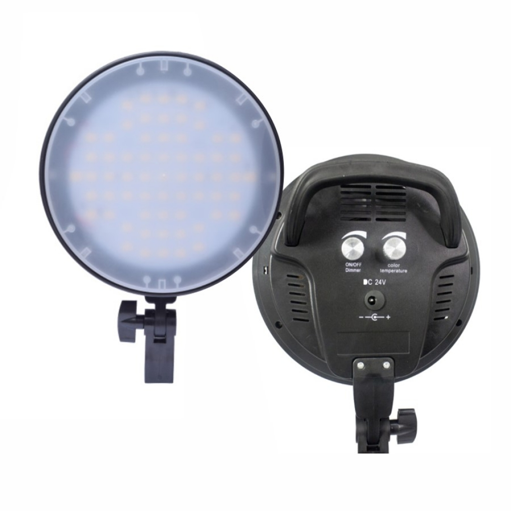 Kit 2 Softbox 50x70 c/ Iluminação de LED Bicolor + 2 Tripés e Bolsa