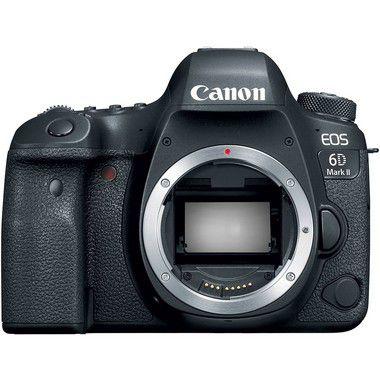 Kit Câmera Canon EOS 6D Mark II DSLR + 50mm f/1.8 + Filtro UV 49mm