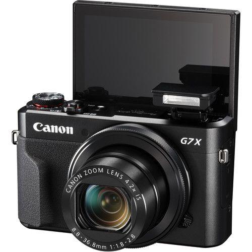 KIt Câmera Canon G7x Mark II com Cartão SanDisk 32GB Extreme