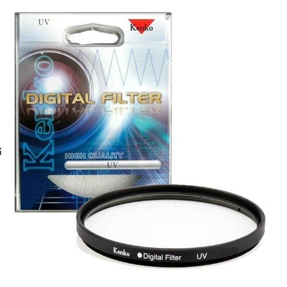 Kit com Filtro UV e PL Kenko de 58MM
