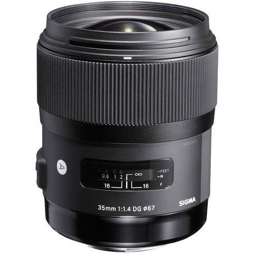 Lente Art Sigma 35mm f/1.4 DG HSM para Nikon F