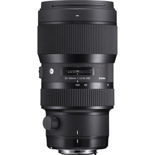 Lente Art Sigma 50-100mm f/1.8 DC HSM para Canon EF