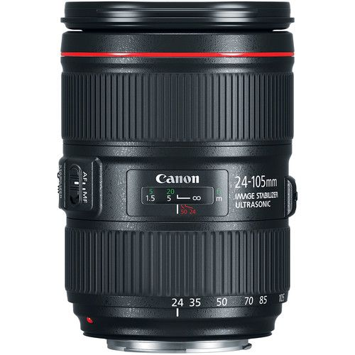 Lente Canon EF 24-105mm f /4L USM IS II