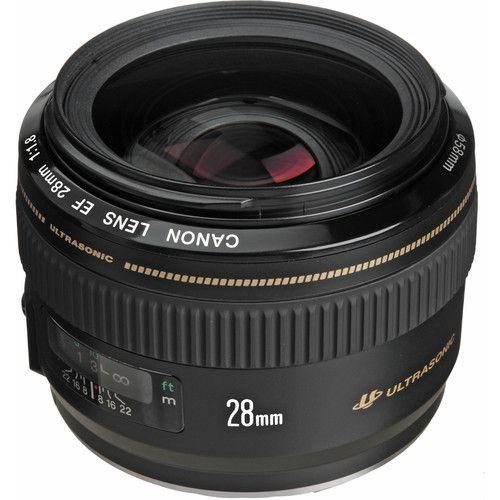 Lente Canon EF 28 mm f / 1.8 USM