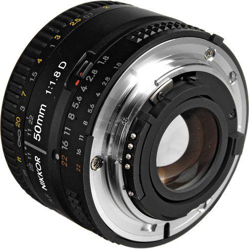 Lente NIKKOR 50mm f /1.8D da Nikon AF