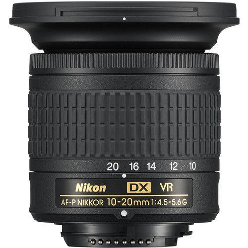 Lente Nikon AF-P DX NIKKOR 10-20 mm f/4.5-5.6G VR
