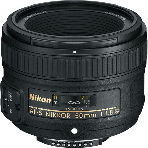 Lente Nikon AF-S 50mm f/1.8G