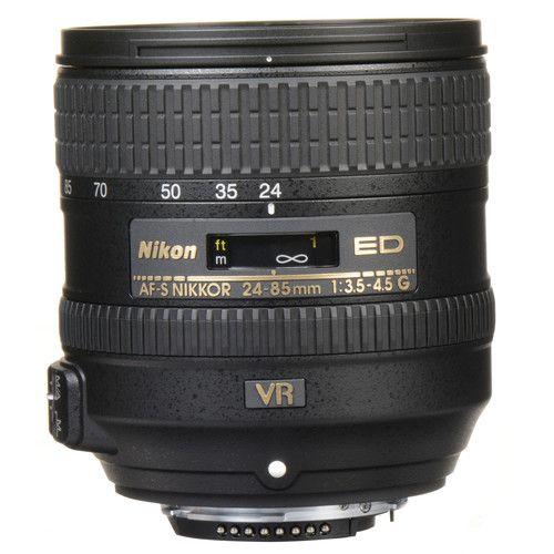 Lente Nikon AF-S NIKKOR 24-85 mm f/3.5-4.5G ED VR