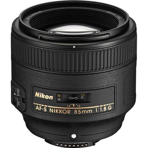 Lente Nikon AF-S NIKKOR 85mm f/1.8G