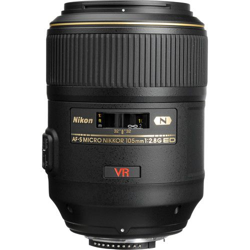 Lente Nikon AF-S VR Lente Micro-NIKKOR 105mm f/2.8G IF-ED
