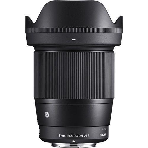 Lente Sigma 16mm f/1.4 DC DN para Sony E Contemporary