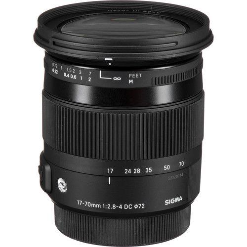 Lente Sigma 17-70mm f/2.8-4 DC Macro OS HSM Contemporary (Canon EF)