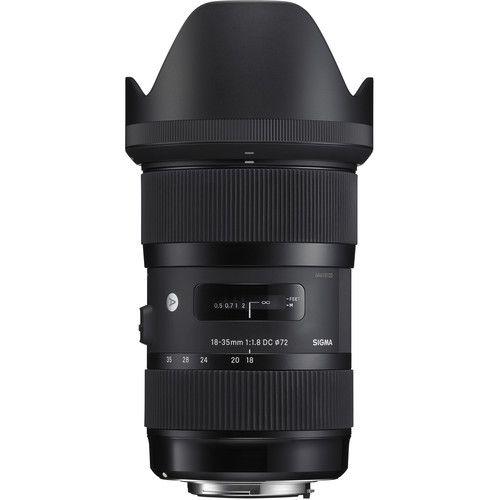 Lente Sigma 18-35 mm f/1.8 DC HSM Art para Nikon F