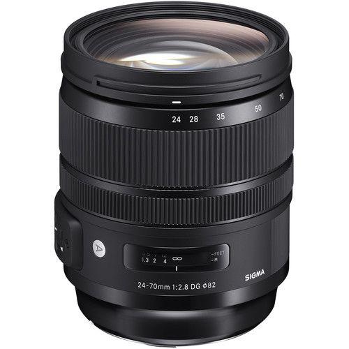 Lente Sigma 24-70mm f/2.8 DG OS HSM Art para Nikon F