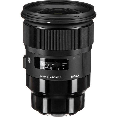 Lente Sigma 24mm f/1.4 DG HSM para Sony E Art