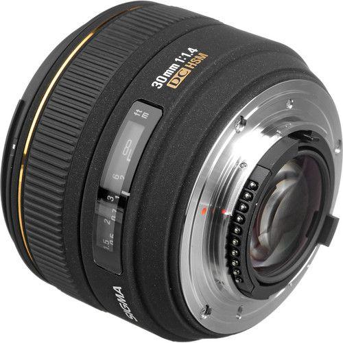 Lente Sigma 30mm f/1.4 EX DC HSM (Nikon)