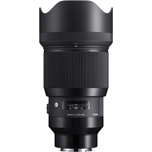Lente Sigma 85mm f/1.4 DG HSM para Sony E Art