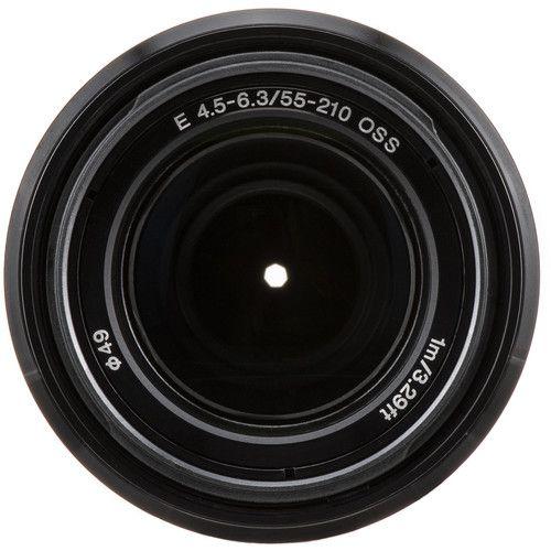 Lente Sony E 55-210mm f/4.5-6.3 OSS (preta)