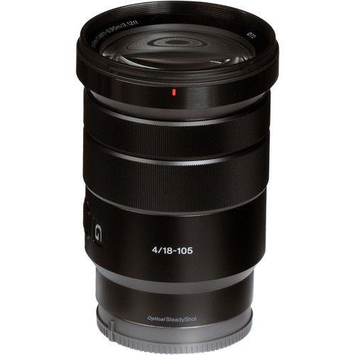 Lente Sony E PZ 18-105 mm f/4 G OSS