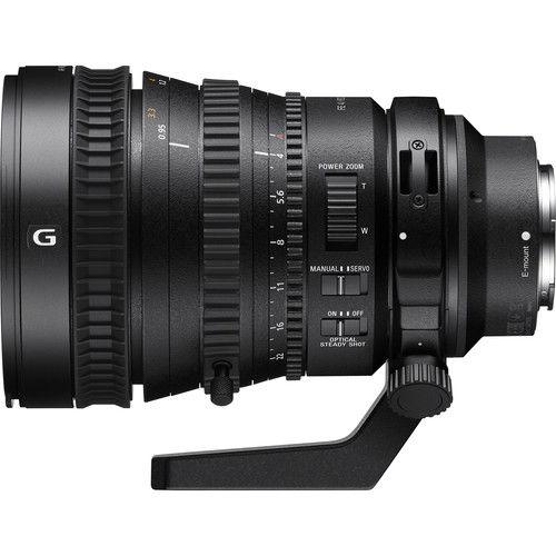 Lente Sony FE PZ 28-135 mm f/4 G OSS