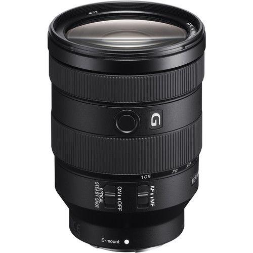 Lente Sony OSS FE 24-105 mm f/4 G