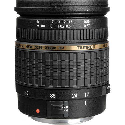 Lente Tamron SP AF 17-50mm f/2.8 XR Di II LD câmeras digitais Canon EOS APS-C