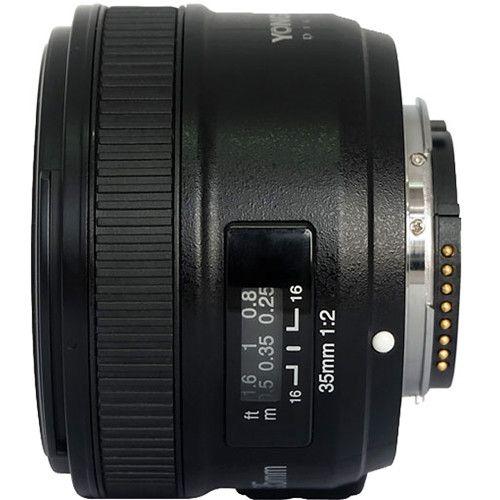 Lente Yongnuo YN 35mm f/2 para Nikon F