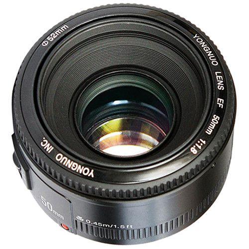 Lente Yongnuo YN 50mm f/1.8 para Canon EF