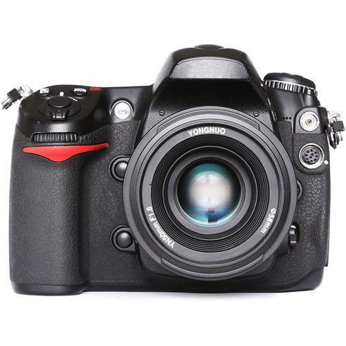 Lente Yongnuo YN 50mm f/1.8 para Nikon F
