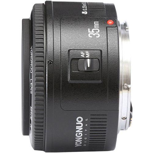 Lentes Yongnuo YN 35mm f/2 para Canon EF