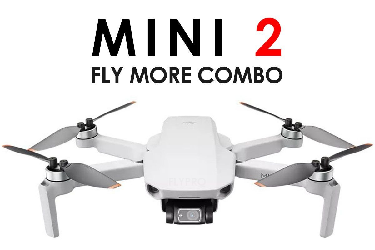 Mavic Mini 2 Fly More Combo
