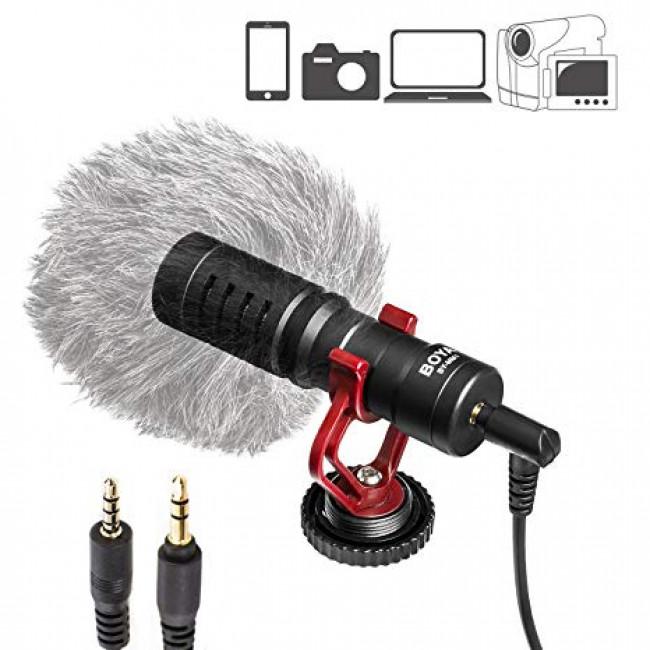 Microfone Boya By-mm1 Direcional