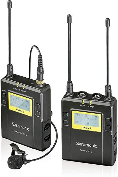 Microfone Lapela Saramonic UwMic9 TX9 RX9