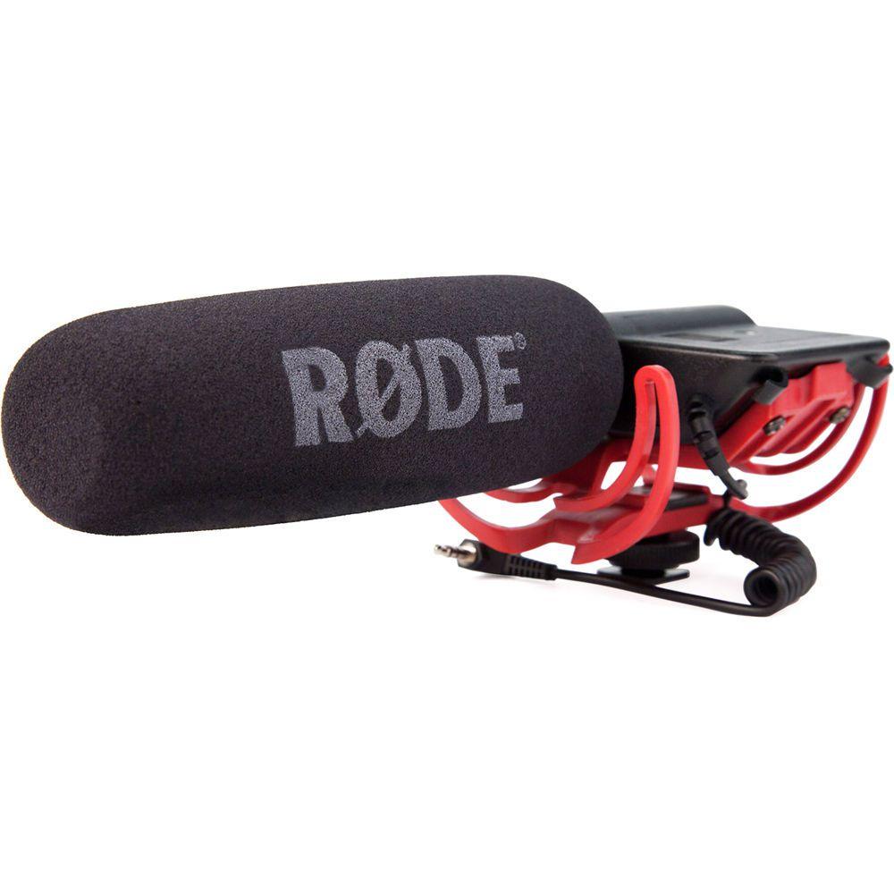 Microfone RODE Shotgun VideoMic Rycote