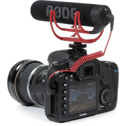 Microfone RODE VideoMic GO c/ DeadCat (original RODE)