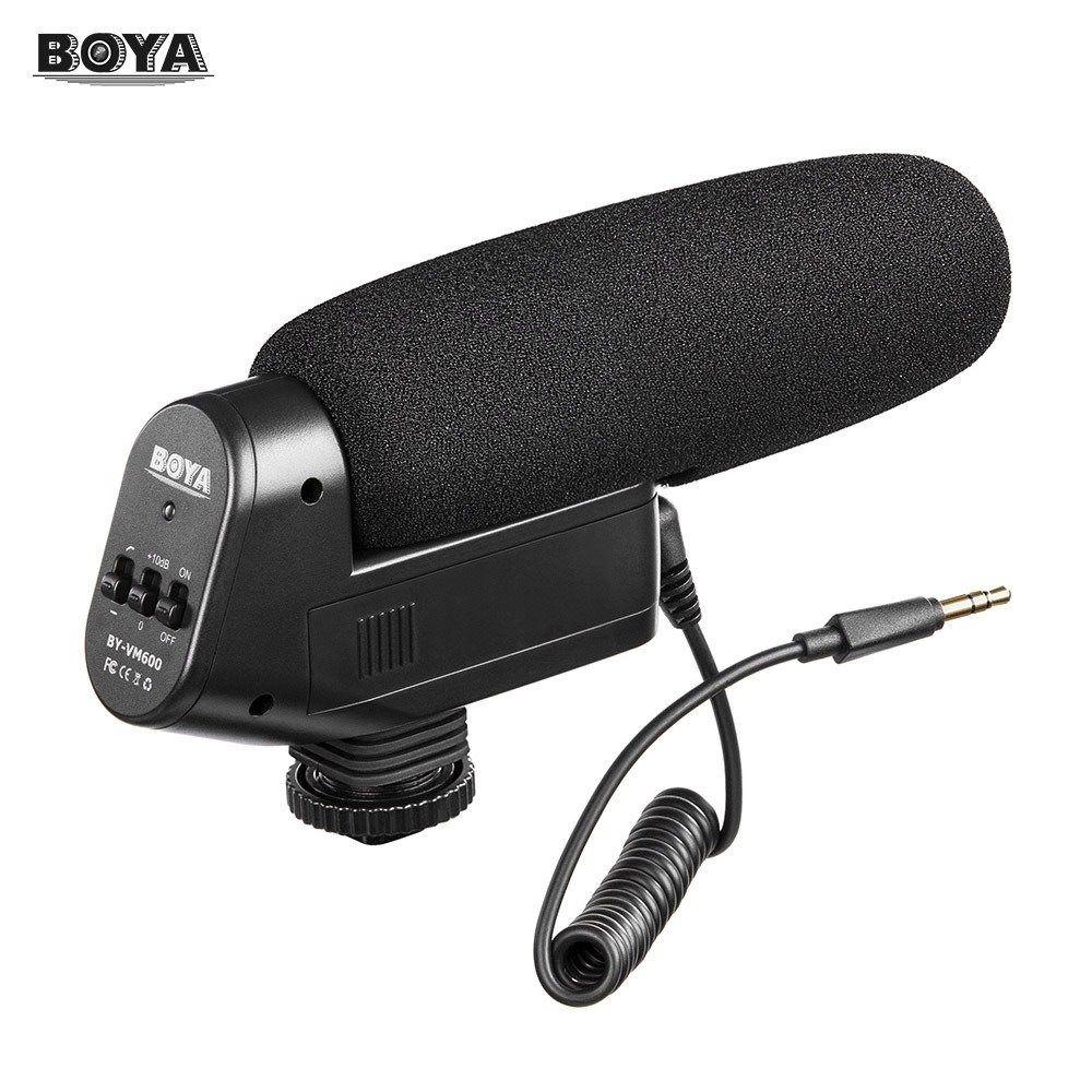 Microfone Shotgun BOYA VM-600