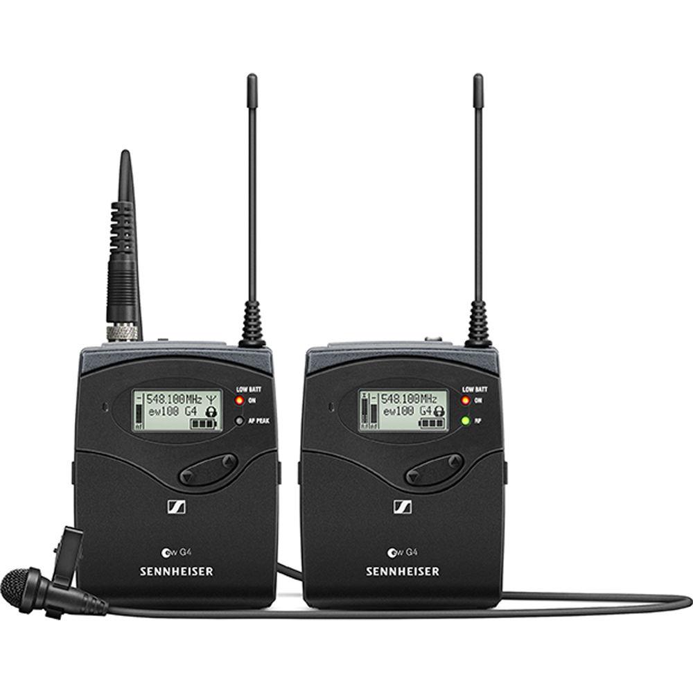 Microfone Wireless Cardioide Sennheiser EW 112P G4