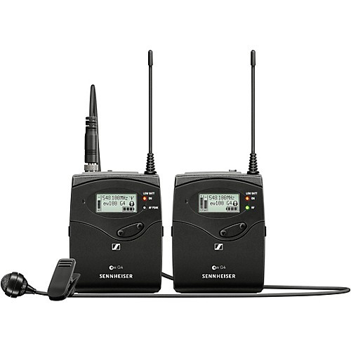 Microfone Wireless Cardioide Sennheiser EW 122P G4